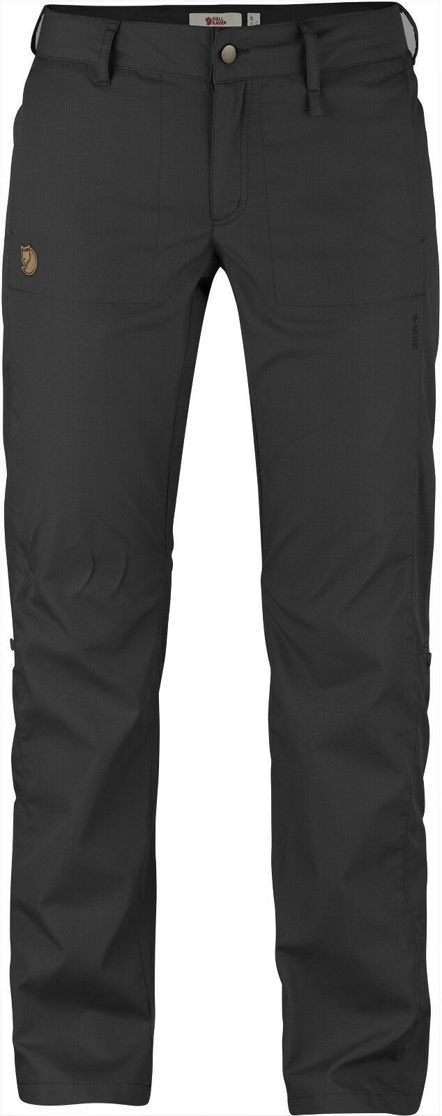 Fjällräven Abisko Shade Trousers 89810  dark grey  G-1000 Air Hose Damenhose