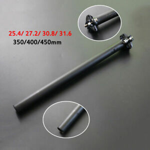 Carbon-Fiber-Superlight-Bike-MTB-Road-Seatpost-25-4-27-2-30-8-31-6-350-400-450mm