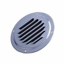 """4"""" STAINLESS STEEL ROUND LOUVERED VENT FOR MARINE BOAT YACHT RV COURTYARD VENT"""