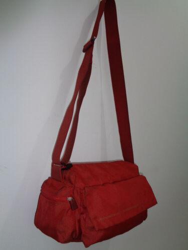 Bag réf Authentique Superbe Vintage Sac À Mandarina Duck Tbeg Main Toile 3 4Pq47