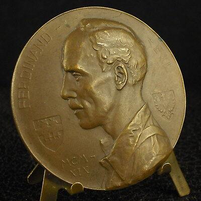* Médaille Acteur Actor Ferdinand Exl Theaterschauspieler 1919 Fc Ruepp Medal 铜牌 Bienes De Conveniencia
