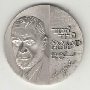Sigmund-Freud-034-Jewish-Contributors-to-Word-Culture-034-State-Medal-60g-Silver-111