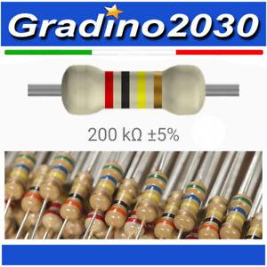 50 Pezzi Resistenza 430 ohm 1//4w 1//4 w 5/%