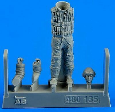 AEROBONUS 1/48 WWII GERMAN LUFTWAFFE PILOT W/LIFE JACKET ...