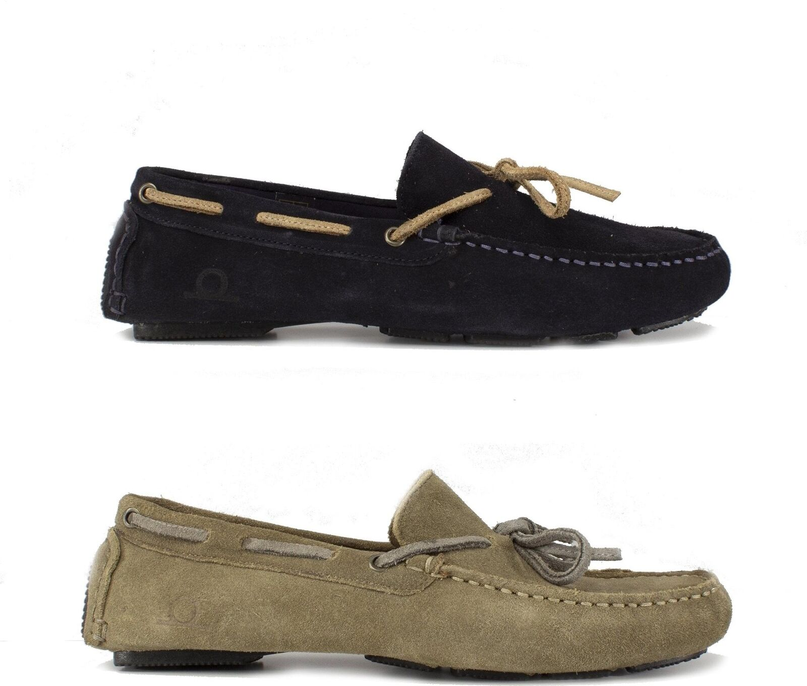 Chatham RILEY II Mens Casual Comfy Suede Leather Moccasin Driving Loafers shoes
