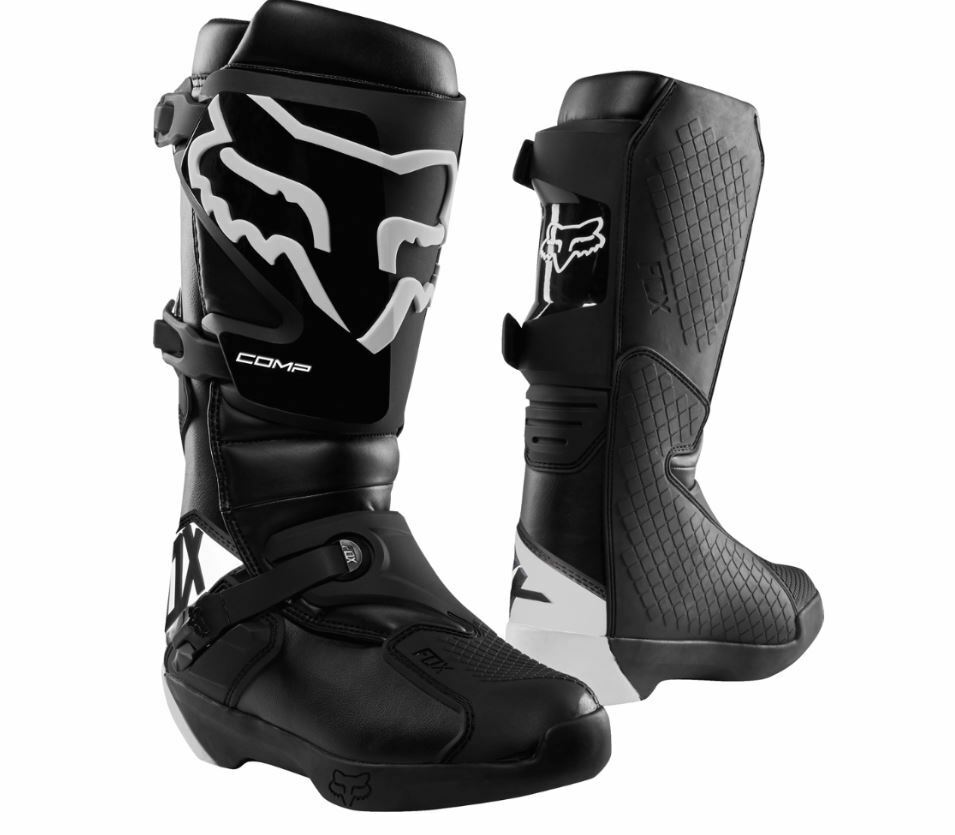 2019 Fox Racing Comp Reiten Motocross Dirtbike Stiefel 8-14 black 21483-001