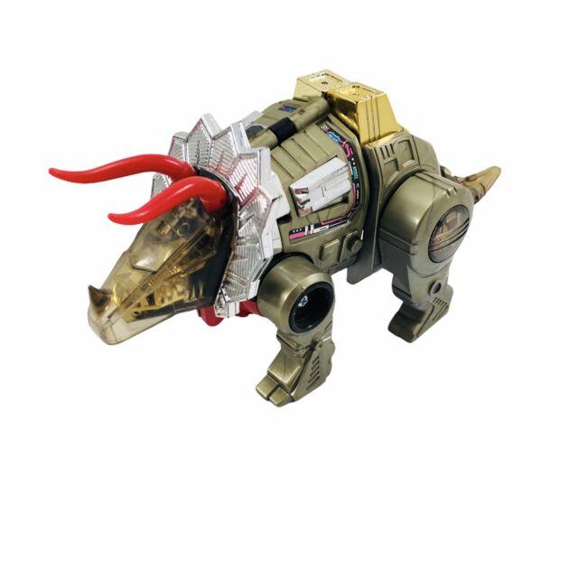 1985 SLAG DINOBOT G1 TRANSFORMERS VINTAGE ORIGINAL Hasbro Takara Triceratops