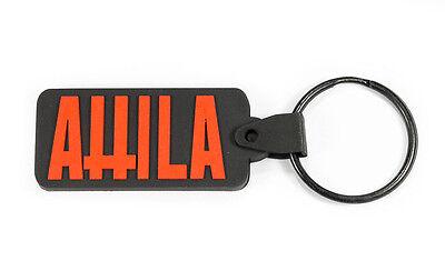 ATTILA Rubber Keychain Keyring Key Chain Key Ring