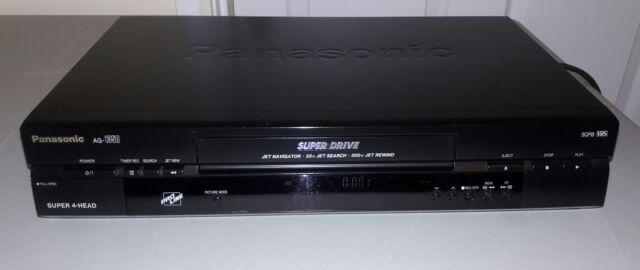 Panasonic AG-1350P Super 4Head VCR Video Cassette Recorder VHS Player*No Remote*