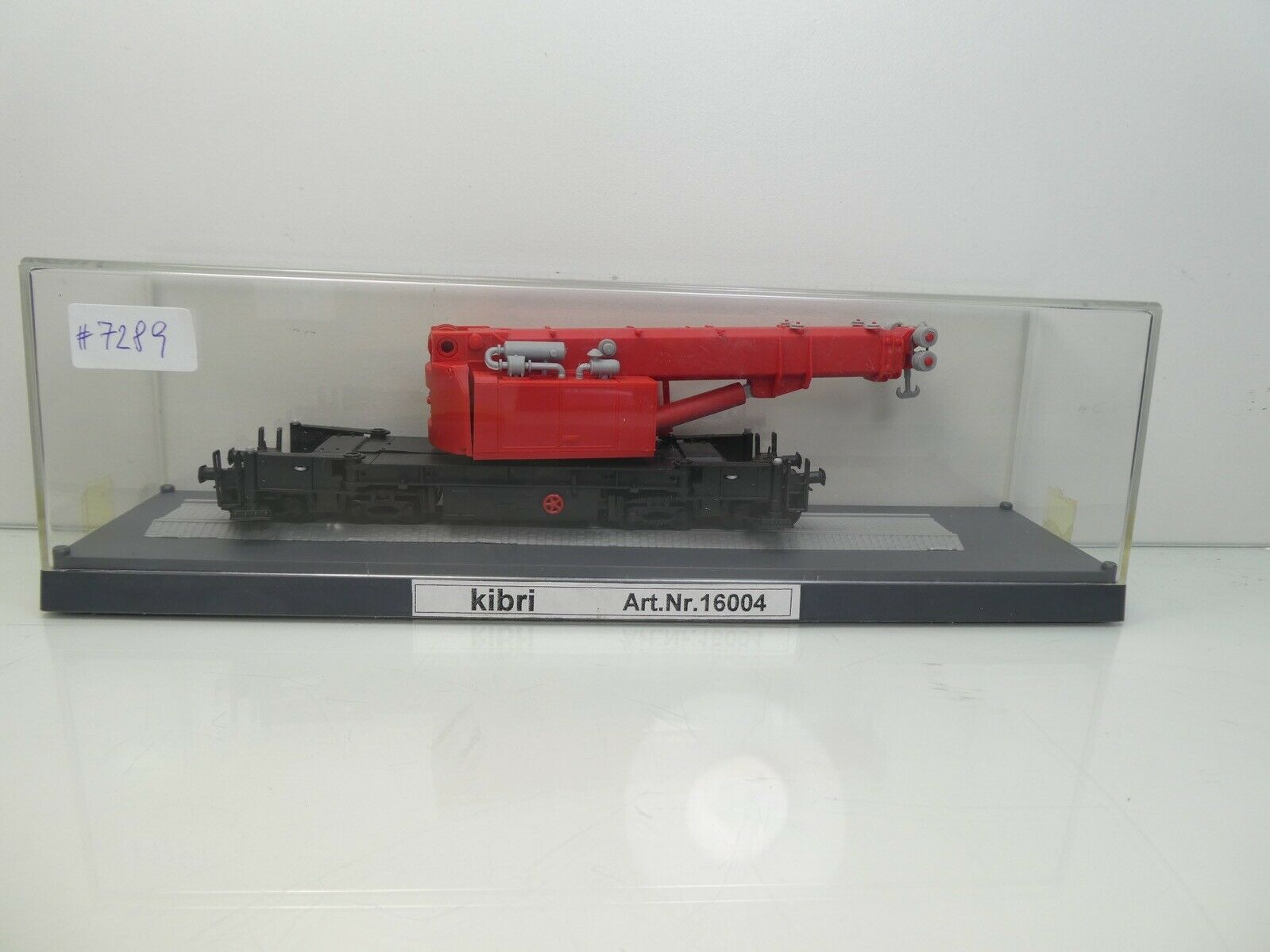 outlet in vendita Kibri 16004 - H0 - Eisenbahn Eisenbahn Eisenbahn Teleskopkran Gottwald GS 100.06T - TOP OVP -  7289  memorizzare