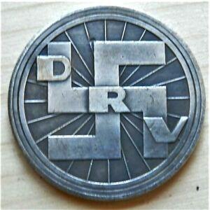 WW2-GERMAN-COMMEMORATIVE-COLLECTORS-COIN-DRV