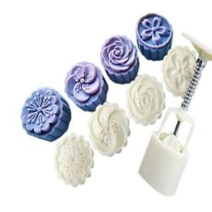 US-Round-Flower-Leaf-Moon-Cake-Mold-Mooncake-Mould-Cake-Baking-Tools