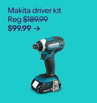 Makita driver kit $99.99