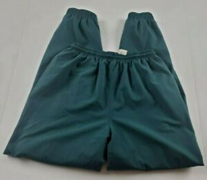 Vintage-Kaelin-Womens-Warm-Up-Pants-Sz-S-Sm-Green-Track-Fitness-Athletic-80s