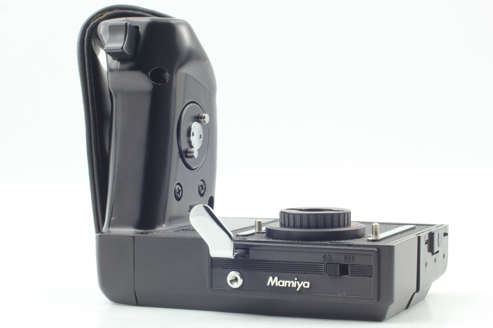 [Top MINT] Mamiya Motor Drive Power Winder Hand Grip for M645 1000S From JAPAN