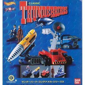 Hot Wheels Classic Thunderbirds Chara Wheels container Mecha Series 3 Japan F/S