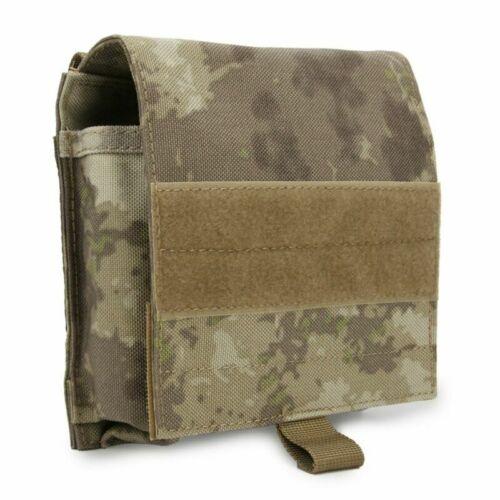 Shotgun 12 Gauge Shell Holder Tactical MOLLE Magazine Pouch Quick Detach Parts