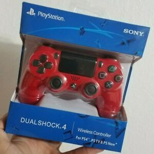 Magma-Red-Sony-PlayStation-4-PS4-Dualshock-4-Wireless-Controller-Gamepad-in-box