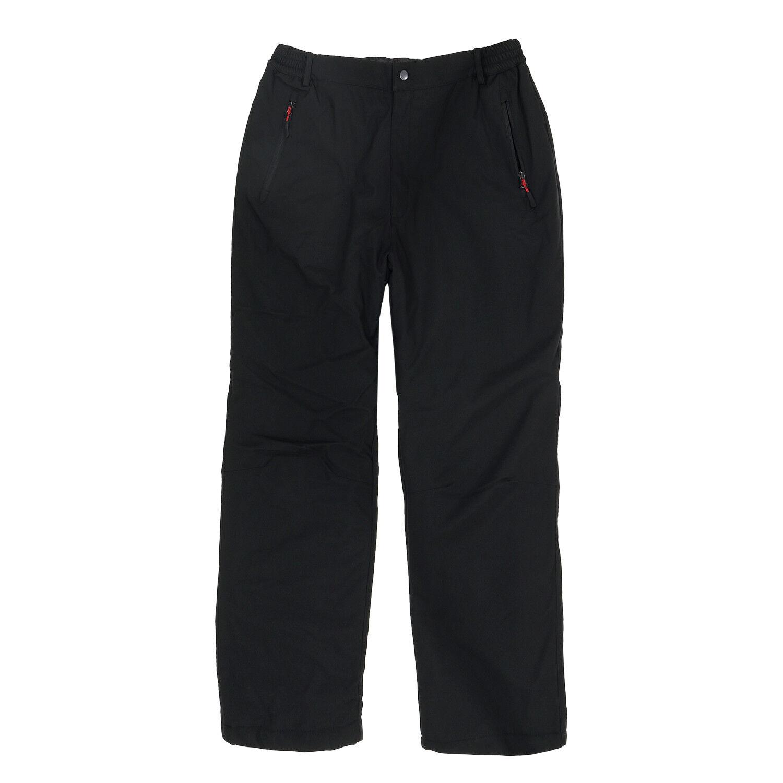 Softshell-Thermo-Hose in Übergrößen black von Brigg 3XL 4XL 5XL 6XL 7XL 8XL
