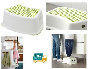 Ikea forsiktig step stool plastic safety children foot stool toilet