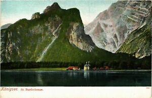 CPA-AK-Konigssee-St-Bartholoma-GERMANY-878844