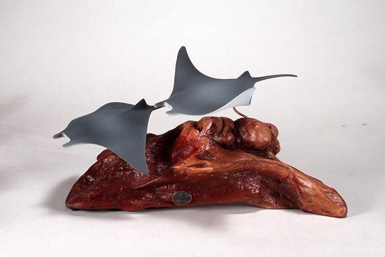 Manta Raggi Figurina Direttamente da John Perry 8in Altezza Nuovo Statua