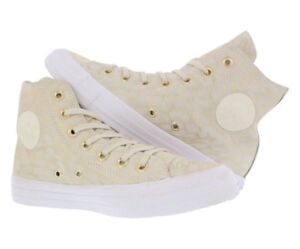 d9071eb80272 Converse Chuck Taylor All Star Hi Women s Leather Shoes Buff Buff ...