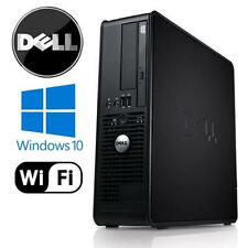 ULTRA Veloce Dell PC computer desktop tower Windows 10 WIFI 8GB RAM 1000GB HDD