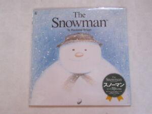 THE-SNOWMAN-Dianne-Jackson-JAPAN-Laser-Disc-LD