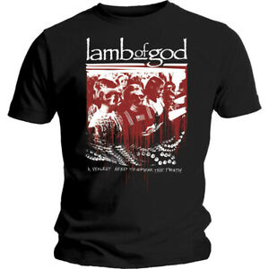 Lamb-Of-God-Enough-Is-Enough-Shirt-S-XXL-Tshirt-Official-Metal-Band-T-Shirt