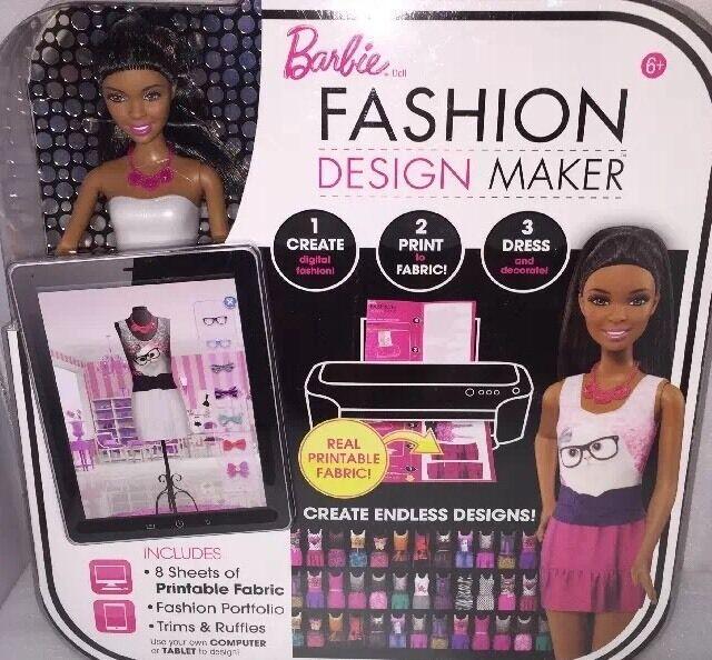 Mattel Cfb94 Barbie Fashion Design Maker African American Doll For Sale Online Ebay