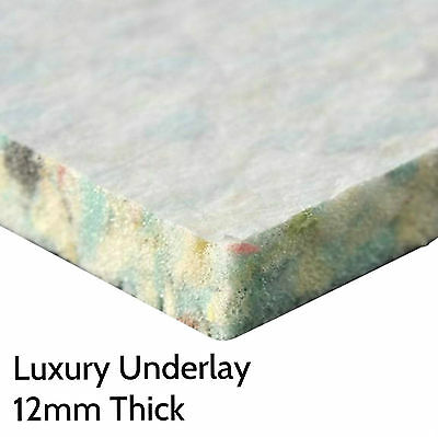 8mm 10mm 12mm Thick Quality Carpet Underlay Rolls - Duralay -  Luxury PU Foam