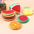1x New Women Fruit Cartoon Coin Bag Purse Pencilcase Wallet Handbag