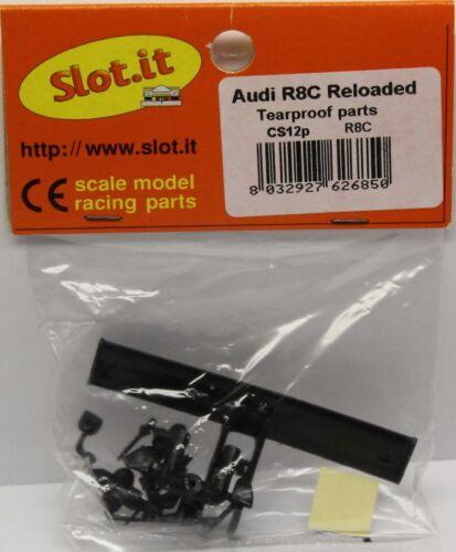 SLOT IT SICS12P NEW AUDI R8C TEARPROOF PARTS NEW 1//32 SLOT CAR PART