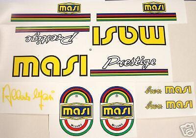 Masi Team 3V Bicycle Decal Set sku Masi-S101
