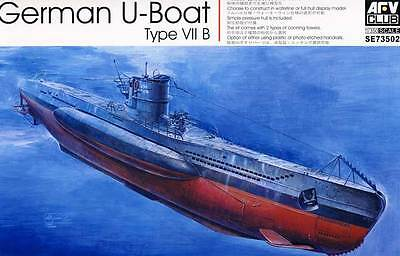 Afv-club U-boat U-47 U-48 U-99 Tipo Viib Vii B 1:3 50 Modello Kit U-4 Boat Kit Sconti