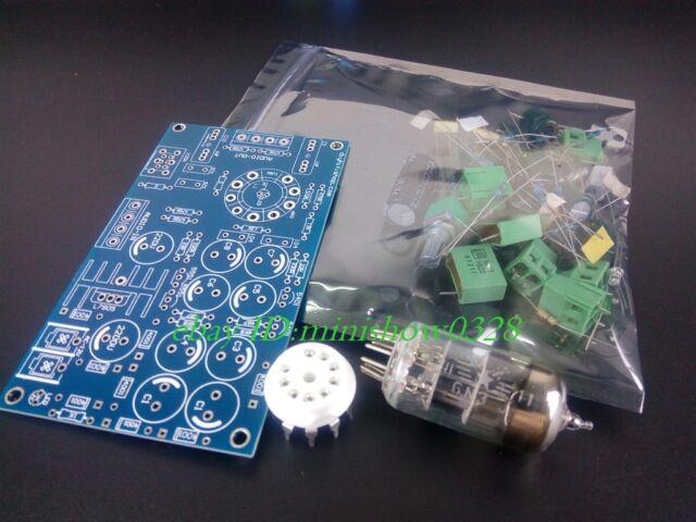 HIFI 6N3 Tube Preamplifier Tube Buffer Tube preamp Pre-AMP Audio KIT DIY