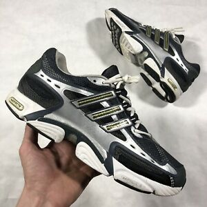cb4978c3e799 Details about vtg 2007 adidas OZWEEGO MILLENNIUM chunky dad shoes sneakers  silver blk sz 12