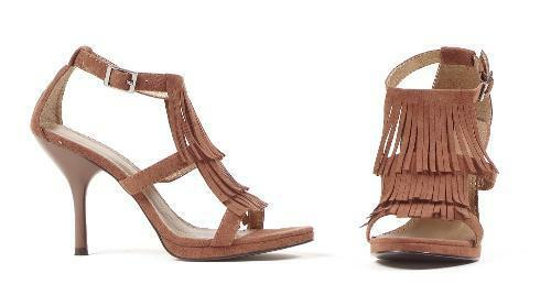 Braun Sandale Fringe 4