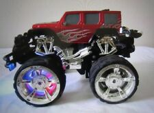 Red Propel Truck Remote Control 27MHz Light-Up Head/Rear Lights & Front Wheels