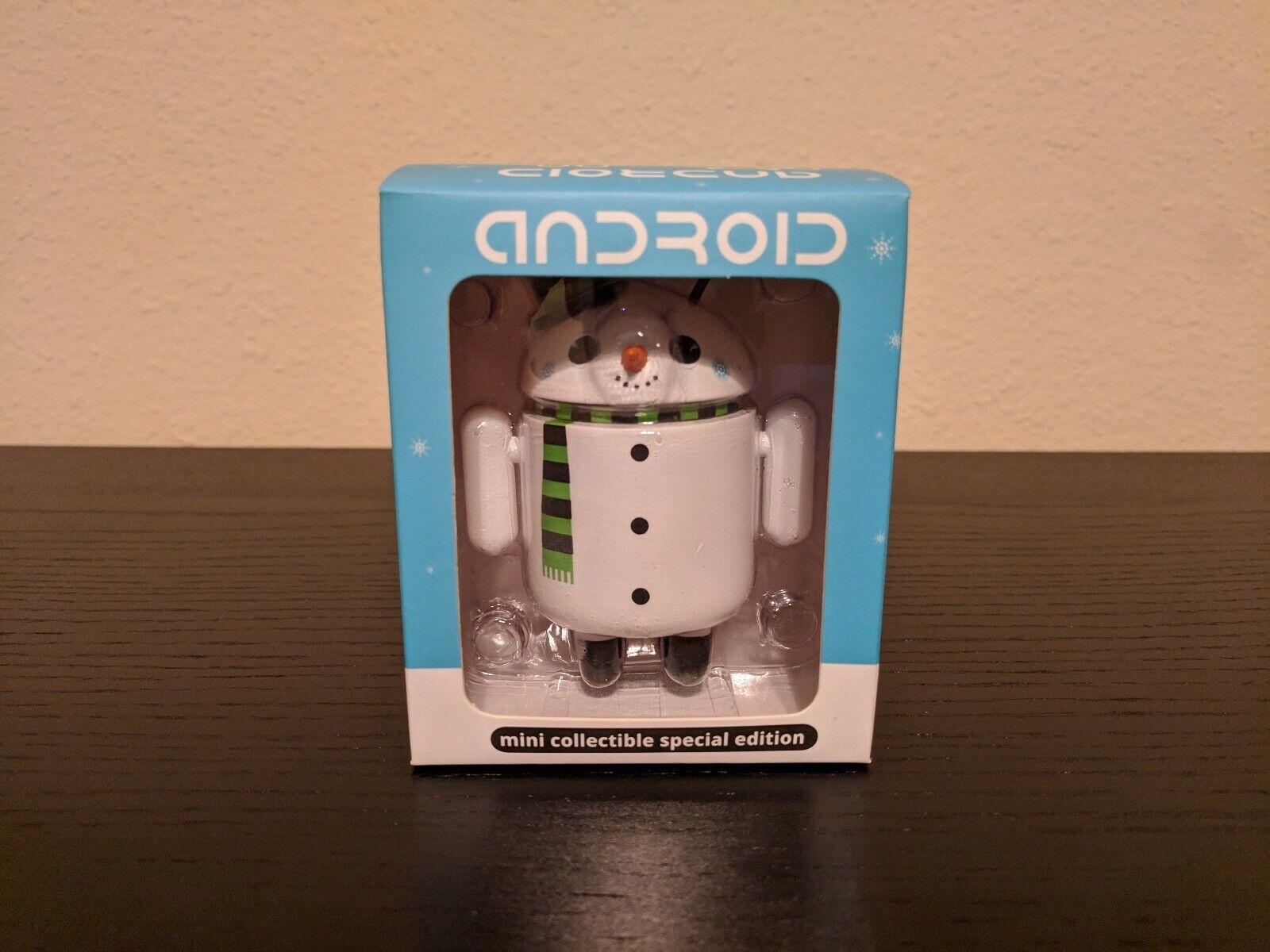2010 Google Android Mini Mini Mini Figure Flakes Christmas Special Edition Gary Ham e79b2a