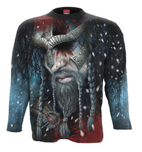 Rock Celtic Spiral Direct VIKING WRAP All Over Long Sleeve Printed T-Shirt