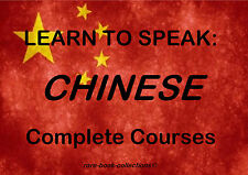 LEARN CHINESE - MANDARIN LANGUAGE COURSE- 21 BOOKS & 99 HRS MP3 AUDIO ALL ON DVD