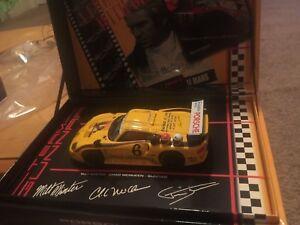 Comme Neuf Boxed Fly Steve Mcqueen Porsche Gt1 Evo Jaune #6 96037-afficher Le Titre D'origine