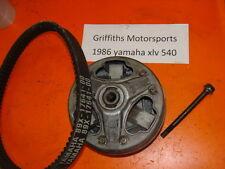 86 87 85 XLV YAMAHA EXCEL V 5 540 SRV PHAZER PRIMARY DRIVE CLUTCH BELT 89X 17641