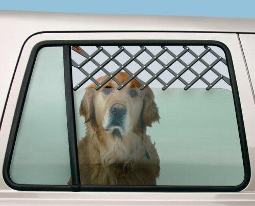 Dog Window Vent RAC RACPB17 Window Vent Guard Pet
