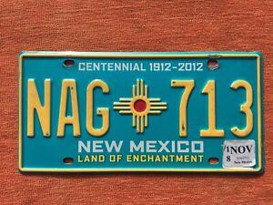 🇺🇸   US Kennzeichen Nummernschild Licenseplate USA  NEW MEXICO  NAG 713  🇺🇸