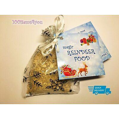 Reindeer Food Magic Magical Christmas Eve Kids Activity Tradition Santa Dust