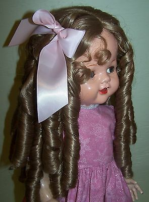 """22/"""" Saucy Walker New Long Wig with Ringlets in Golden Blonde #4"""