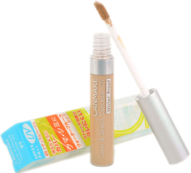 Canmake Japan Cover & Stretch Concealer Stick UV SPF25 PA++ Waterproof